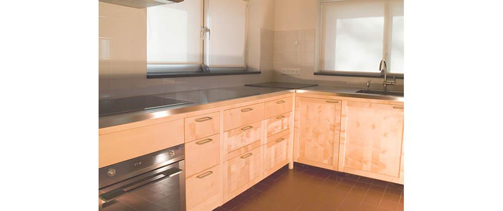 Massief houten keuken - meubelmakerij Casper Rutges