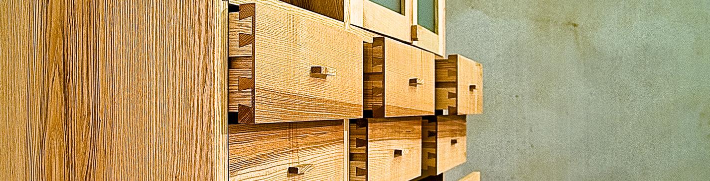 Massief houten kasten   meubelmaker Casper Rutges   moderne kasten