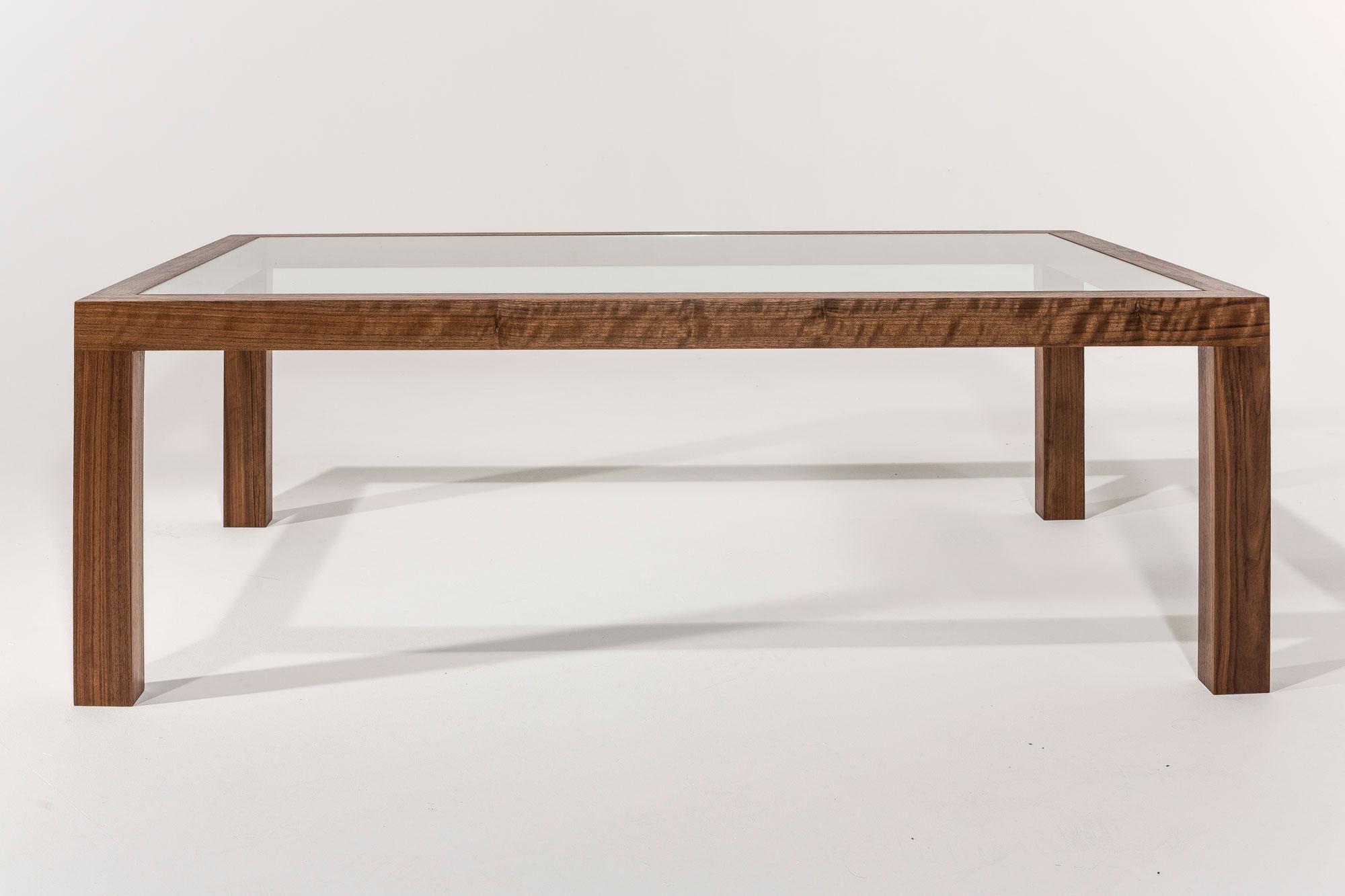 Glazen-salontafel