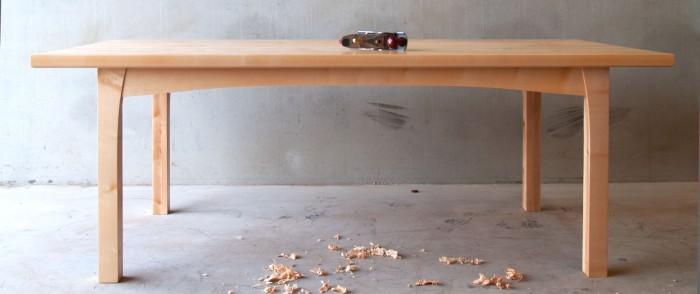 Esdoorn houten tafel
