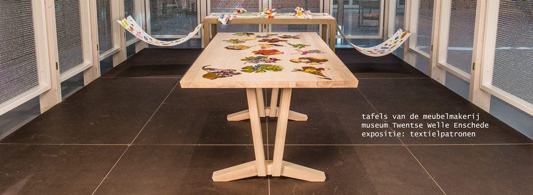 Tafels voor expositie Twentse Welle