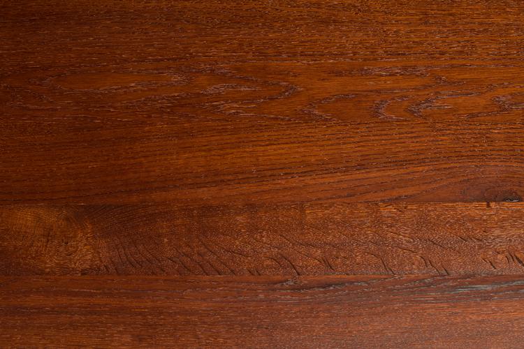 Gestoomd eikenhout - afgewerkt met olie