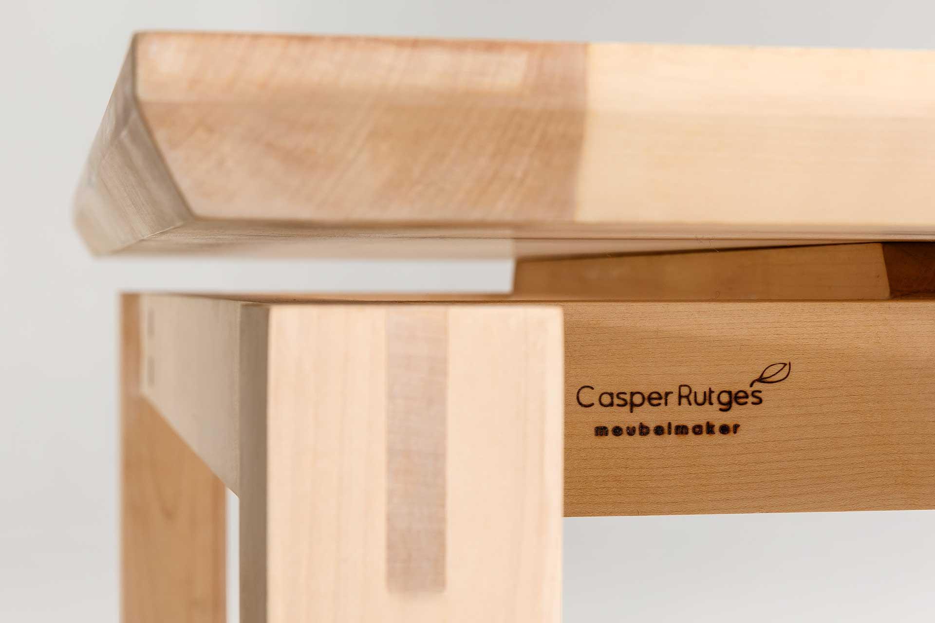 Tafel op maat massief houten tafels en eetkamertafels for Tafel op maat