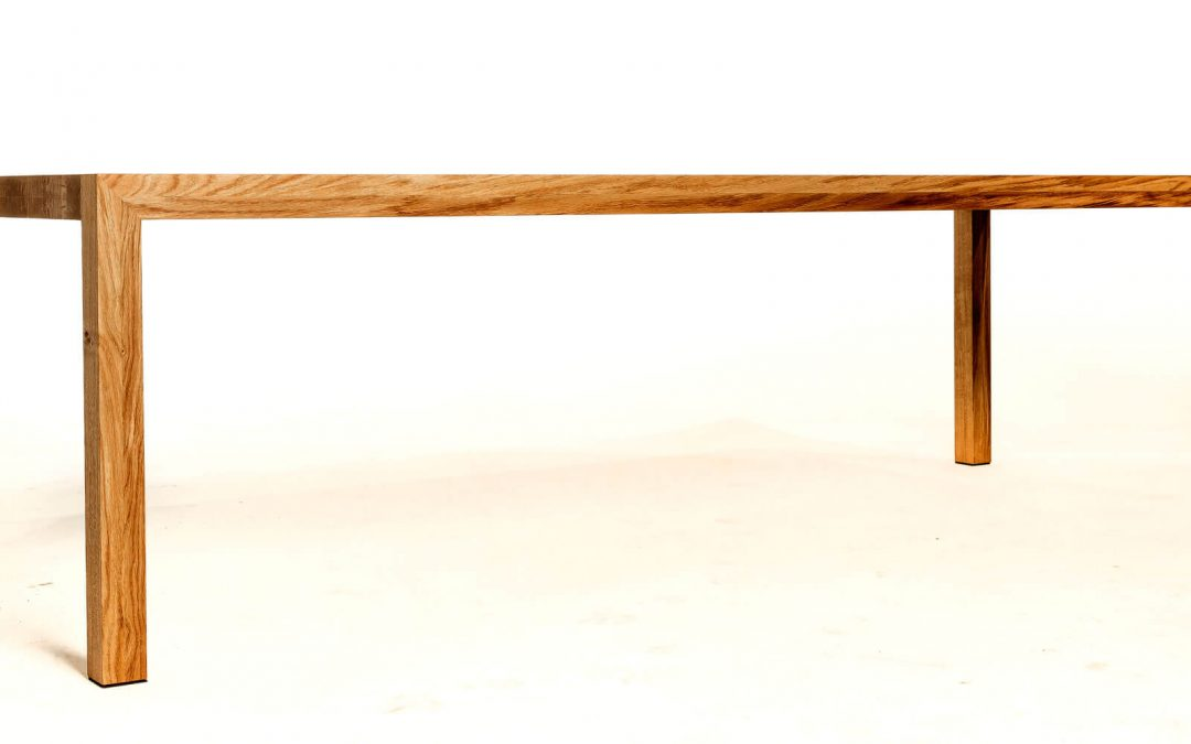 Massief eiken houten tafel