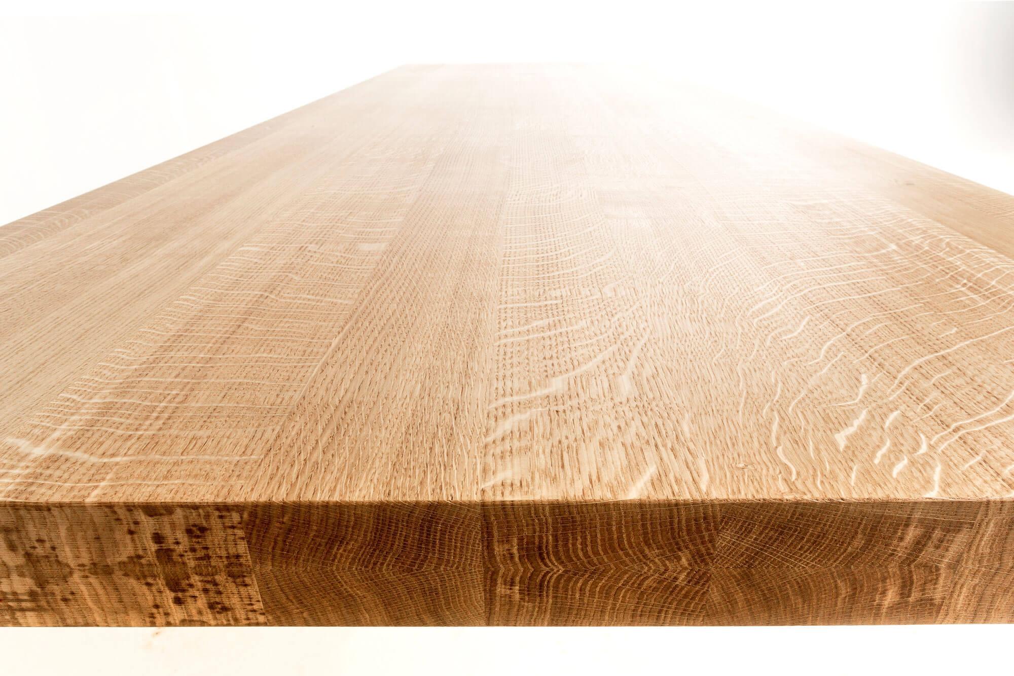 Massief eiken houten tafel meubelmaker casper rutges op maat