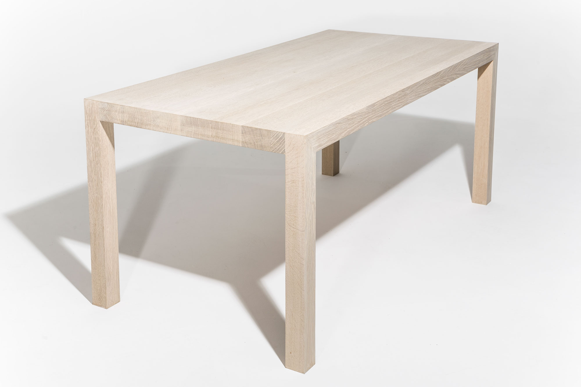 tafel gezeept eikenhout