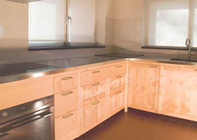 Massief houten keuken