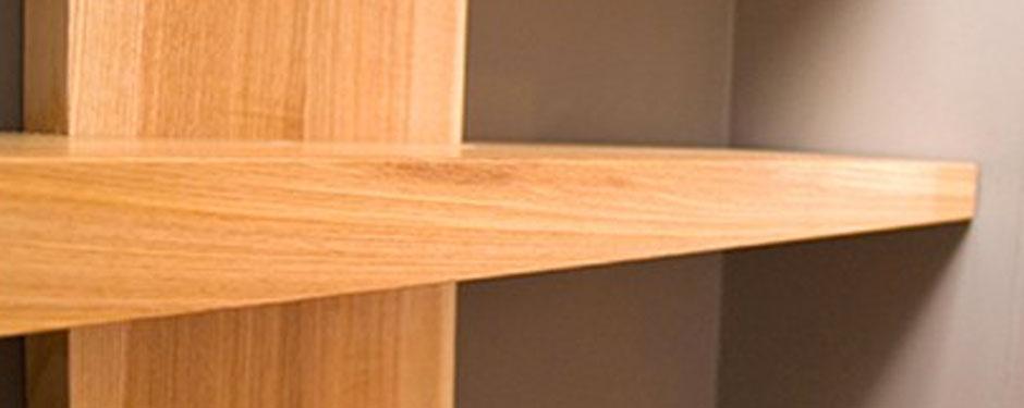 houtenboekenkast op maat essen